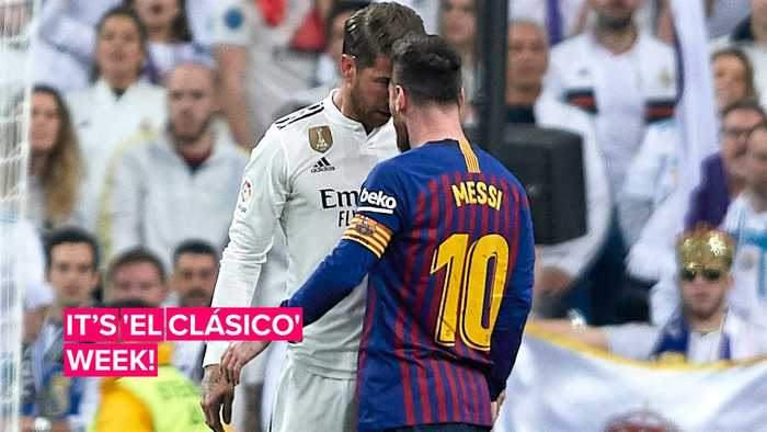 Here are some quick facts about this week's 'El Clásico' match