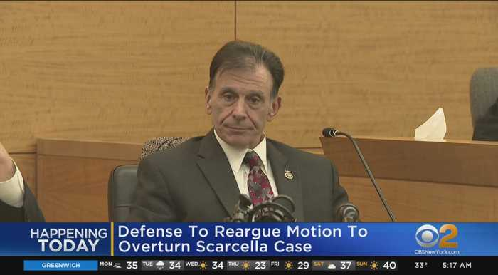 Defense To Reargue Motion To Overturn Scarcella Case