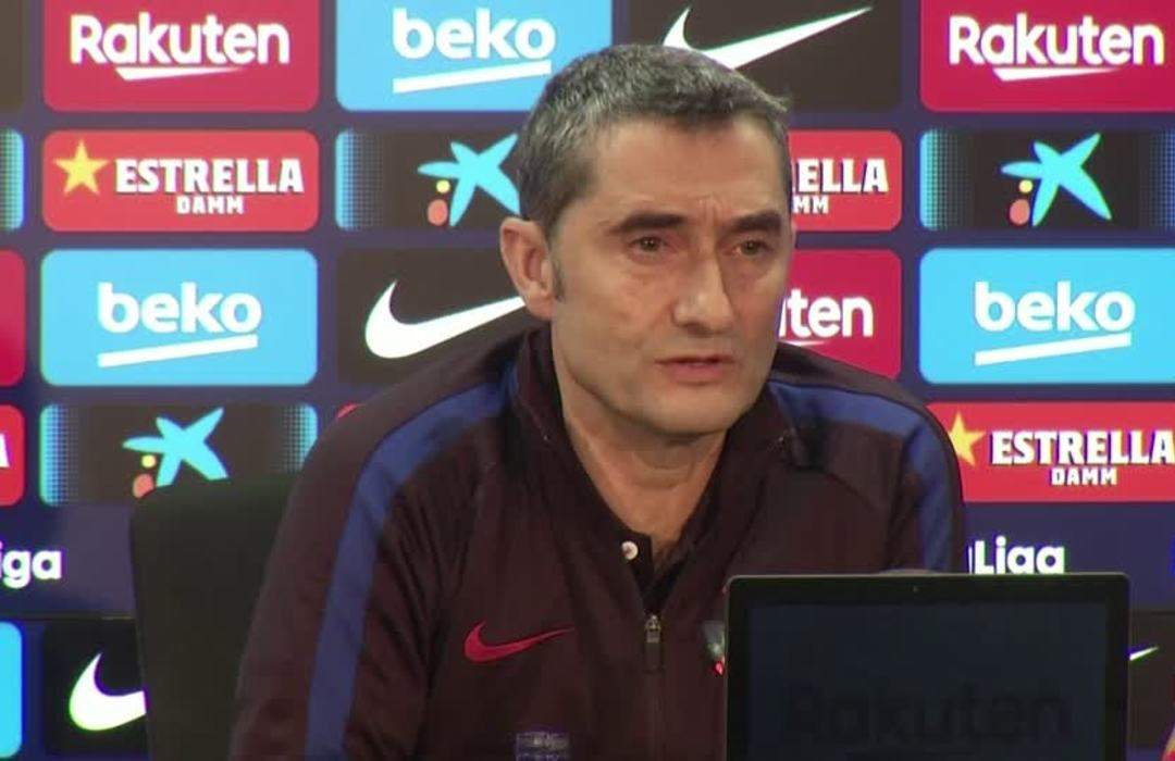 Valverde tells fans to protest freely in Clasico but show respect