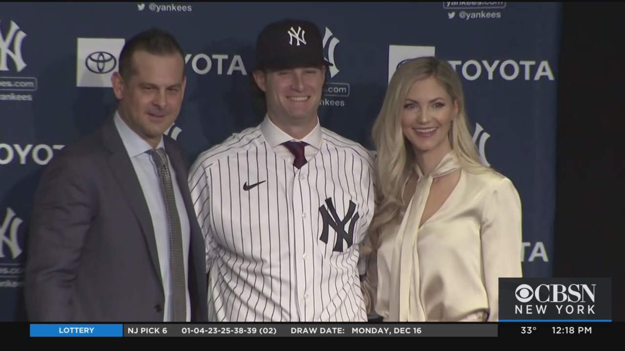 Gerrit Cole Introduced As New Star Pitcher For NY Yankees