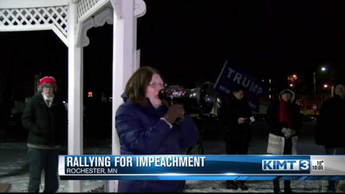 Rallying for impeachment