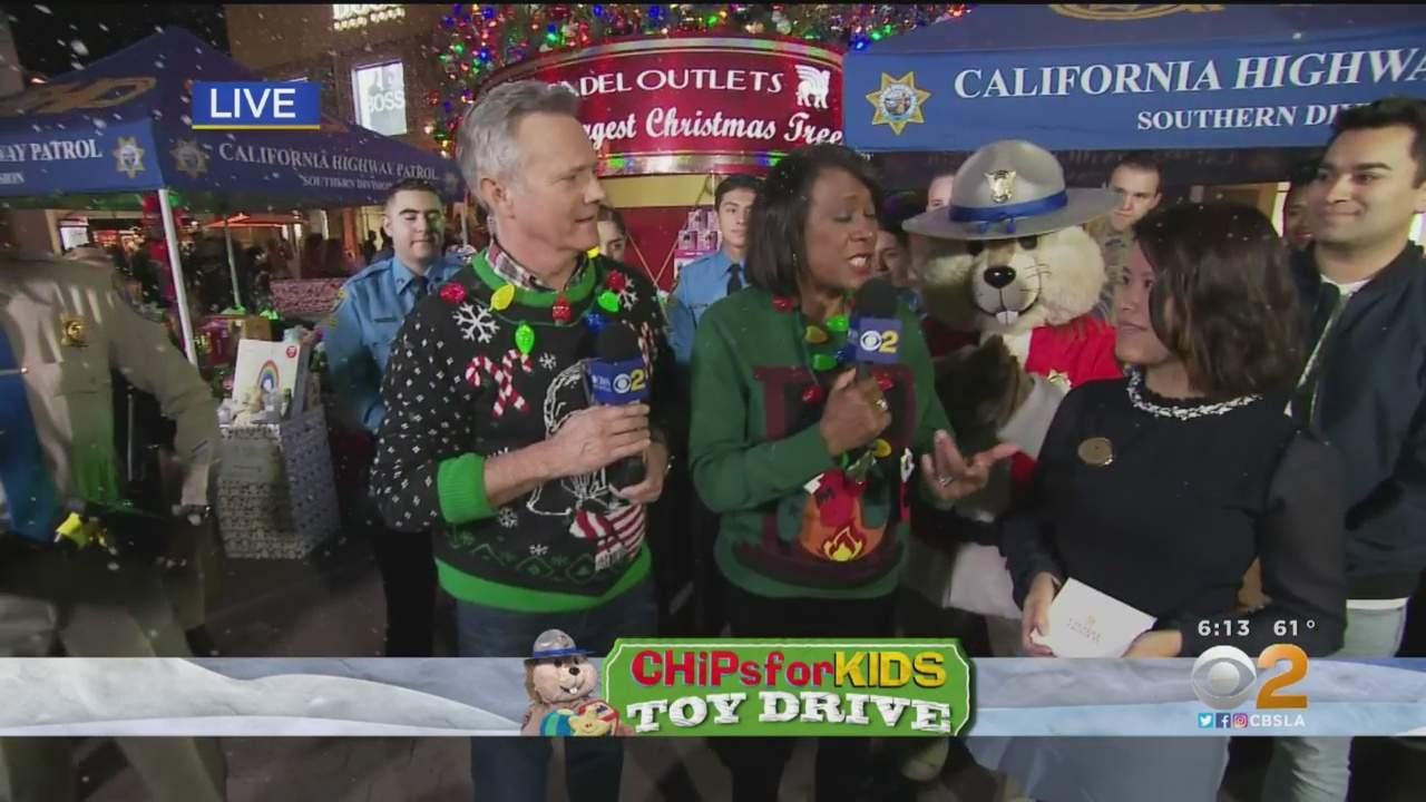 CHiPs For Kids Wraps Up Toy Drive