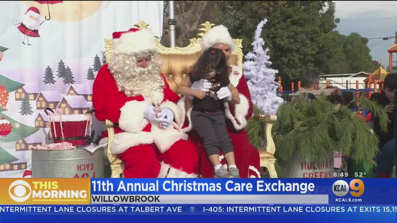 CHiPs For Kids Spreads Holiday Cheer at Christmas Care Exchange Event