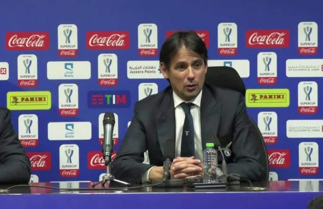 Lazio beat Juventus again to win Italian Supercup