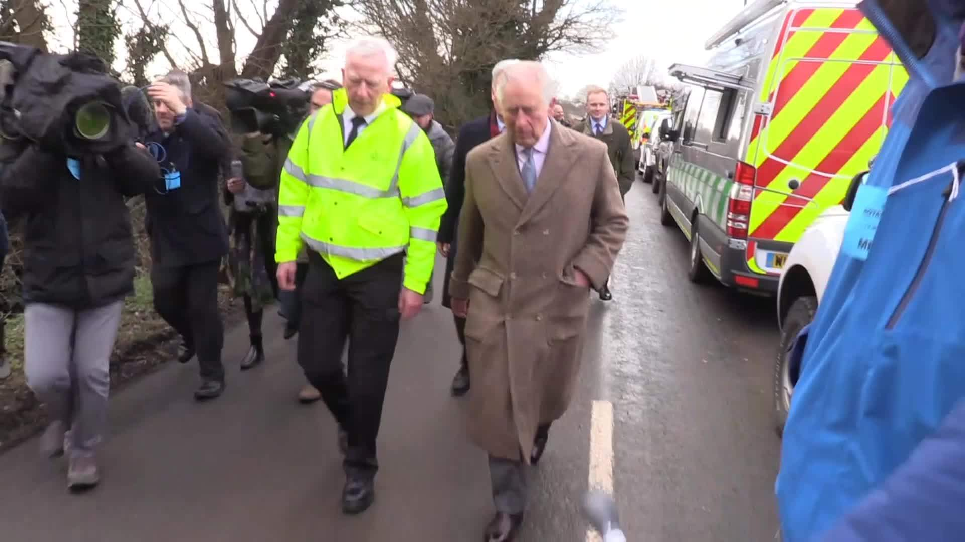 Charles gives an update on his father, the Duke of Edinburgh's health