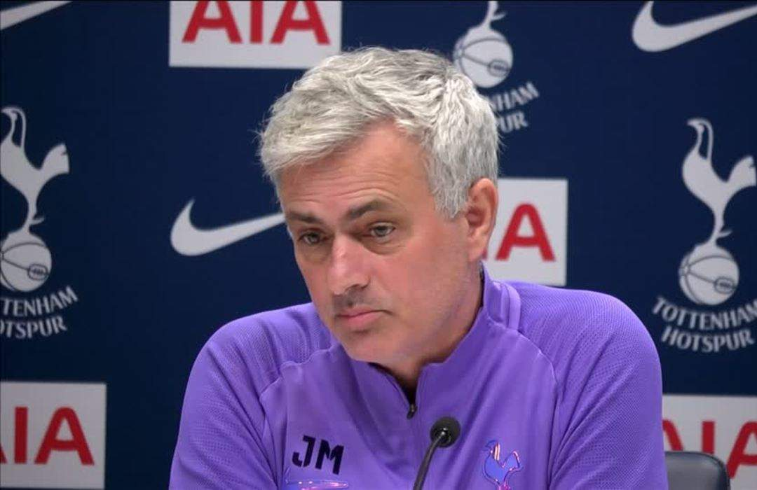 Mourinho angered by Son's red card VAR decision