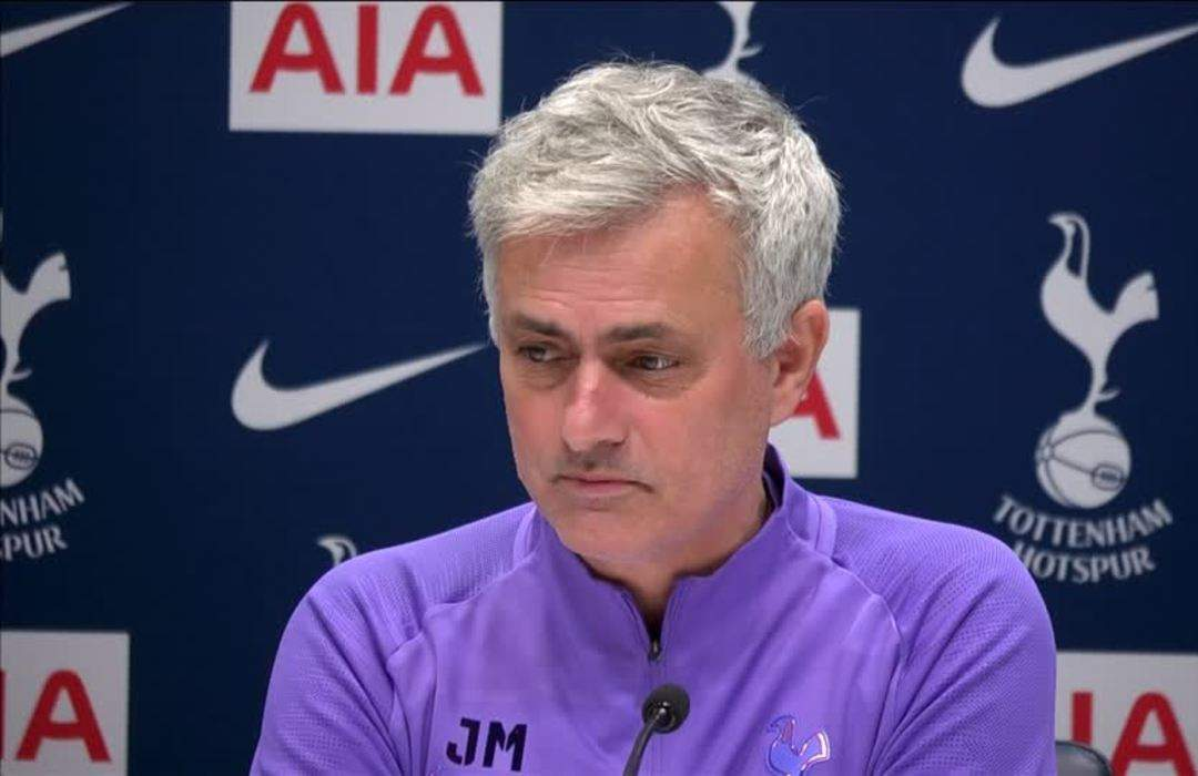 Tottenham's Mourinho supports action against racism