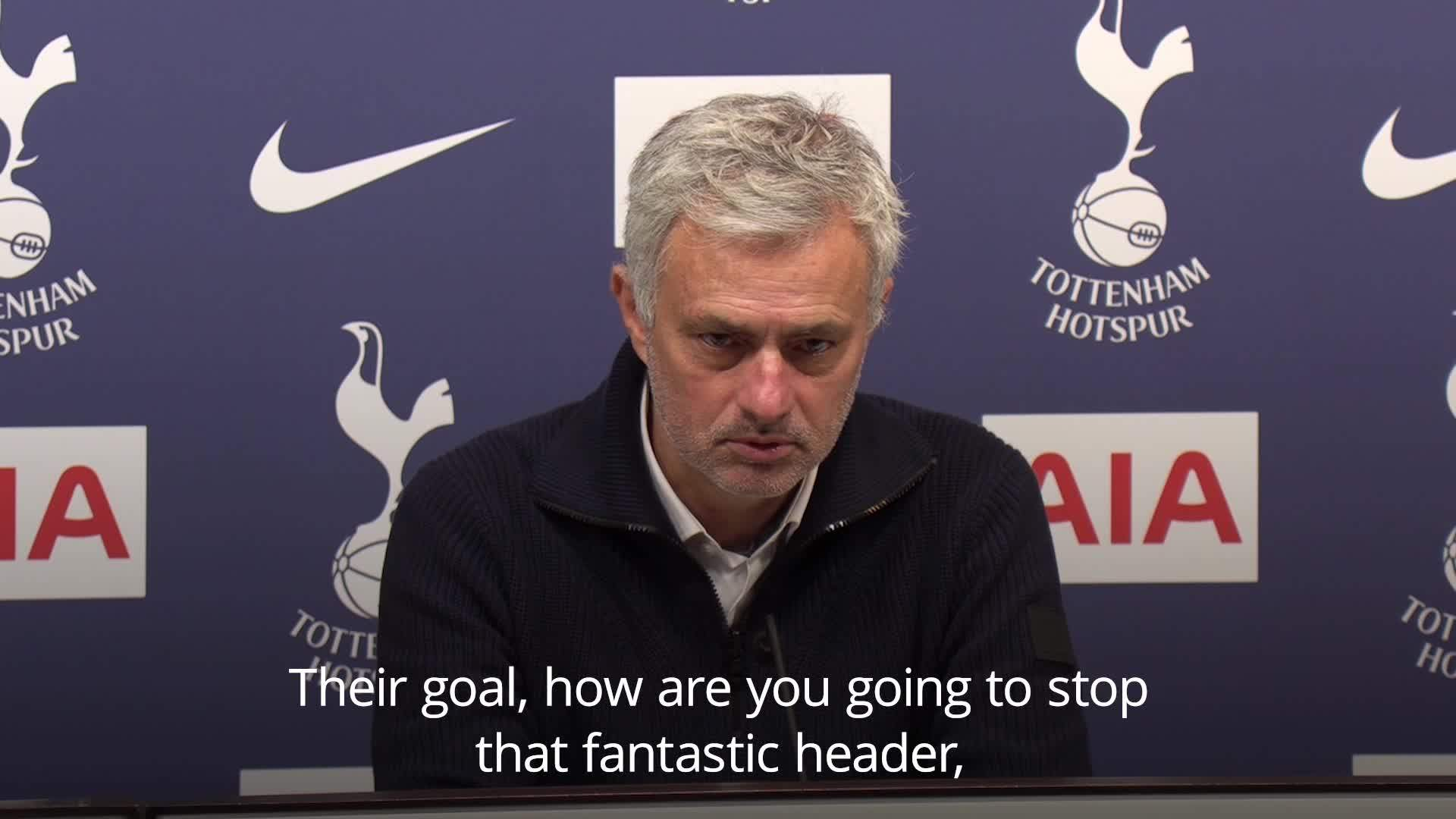 Mourinho reflects on spur 2-1 win against Brighton