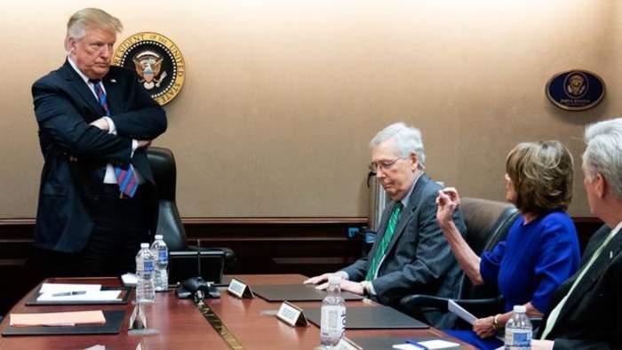 Trump: 'So Interesting' Pelosi 'Demanding Fairness' From McConnell