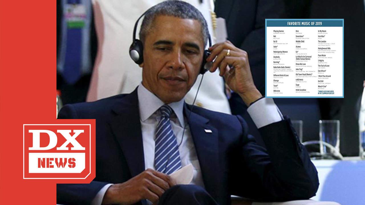 Barack Obama Puts DaBaby, J. Cole, Summer Walker & More On His 2019 Playlist