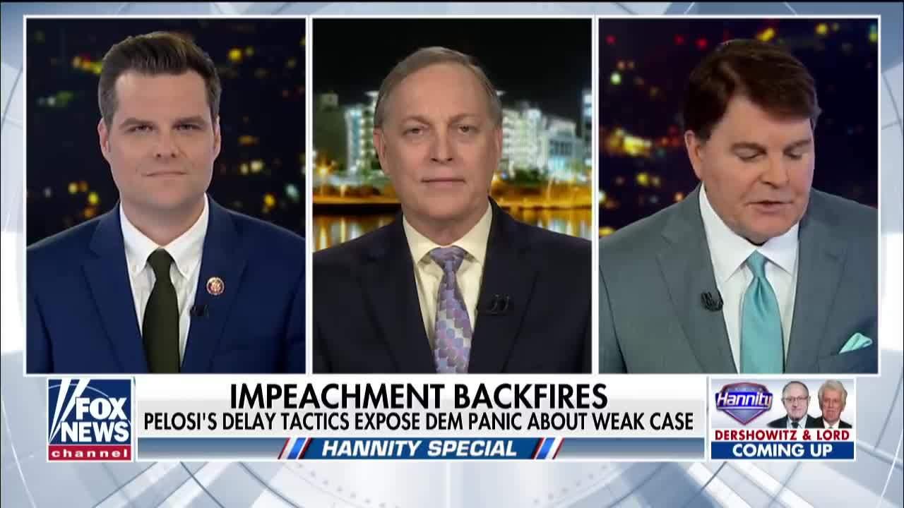 Gaetz on Democrat impeachment threats