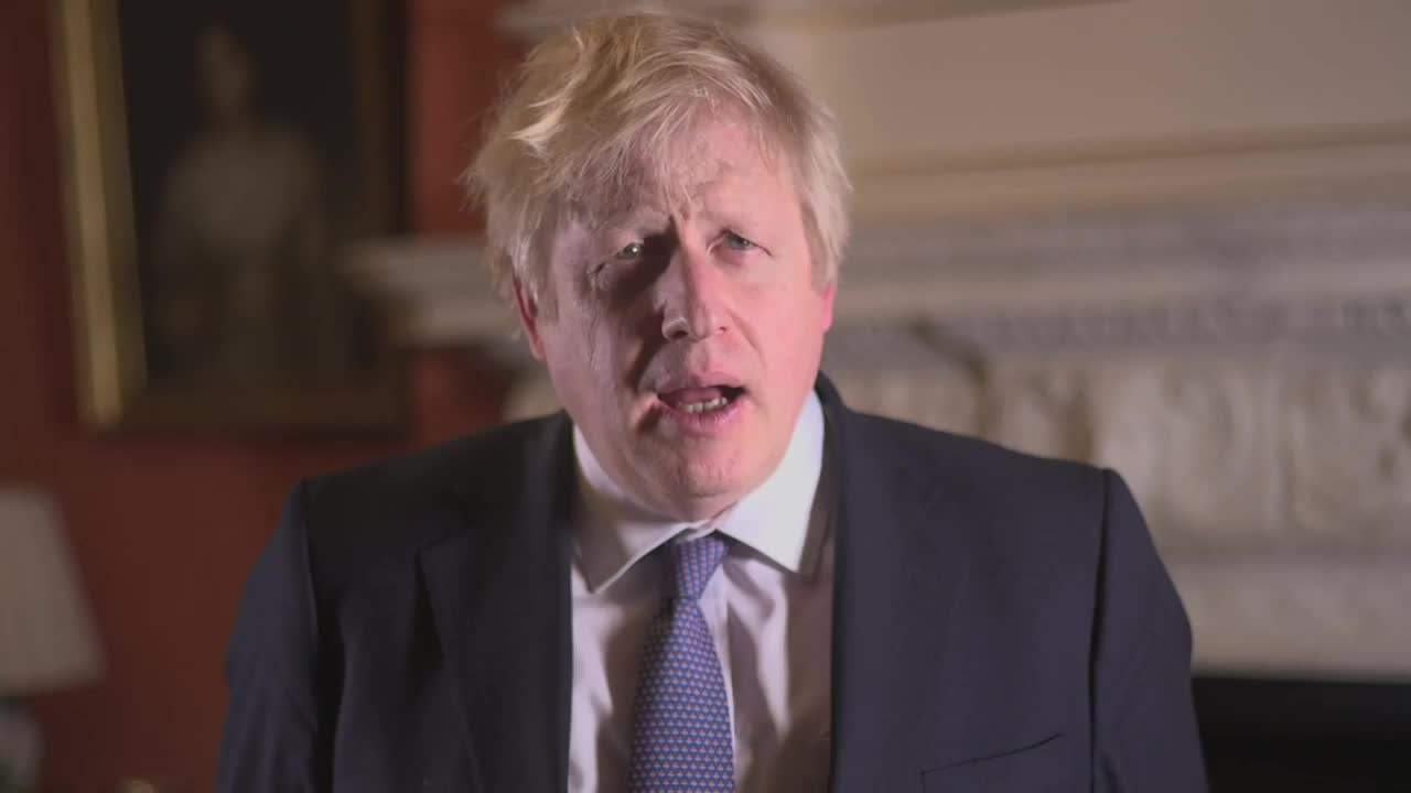 Boris Johnson promises to get Brexit done New Year's message