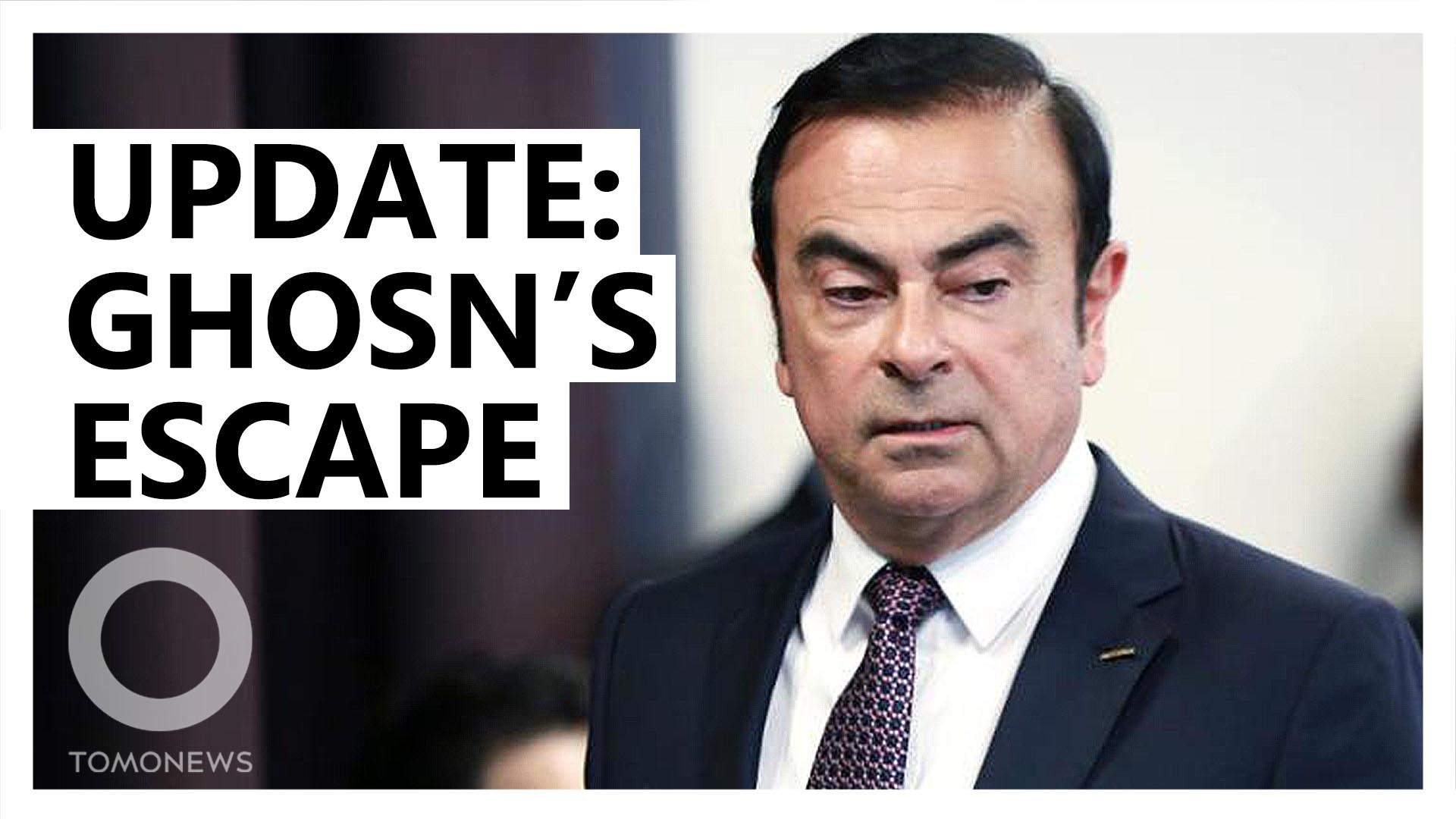 What we now know about Ghosn's daring escape from Japan