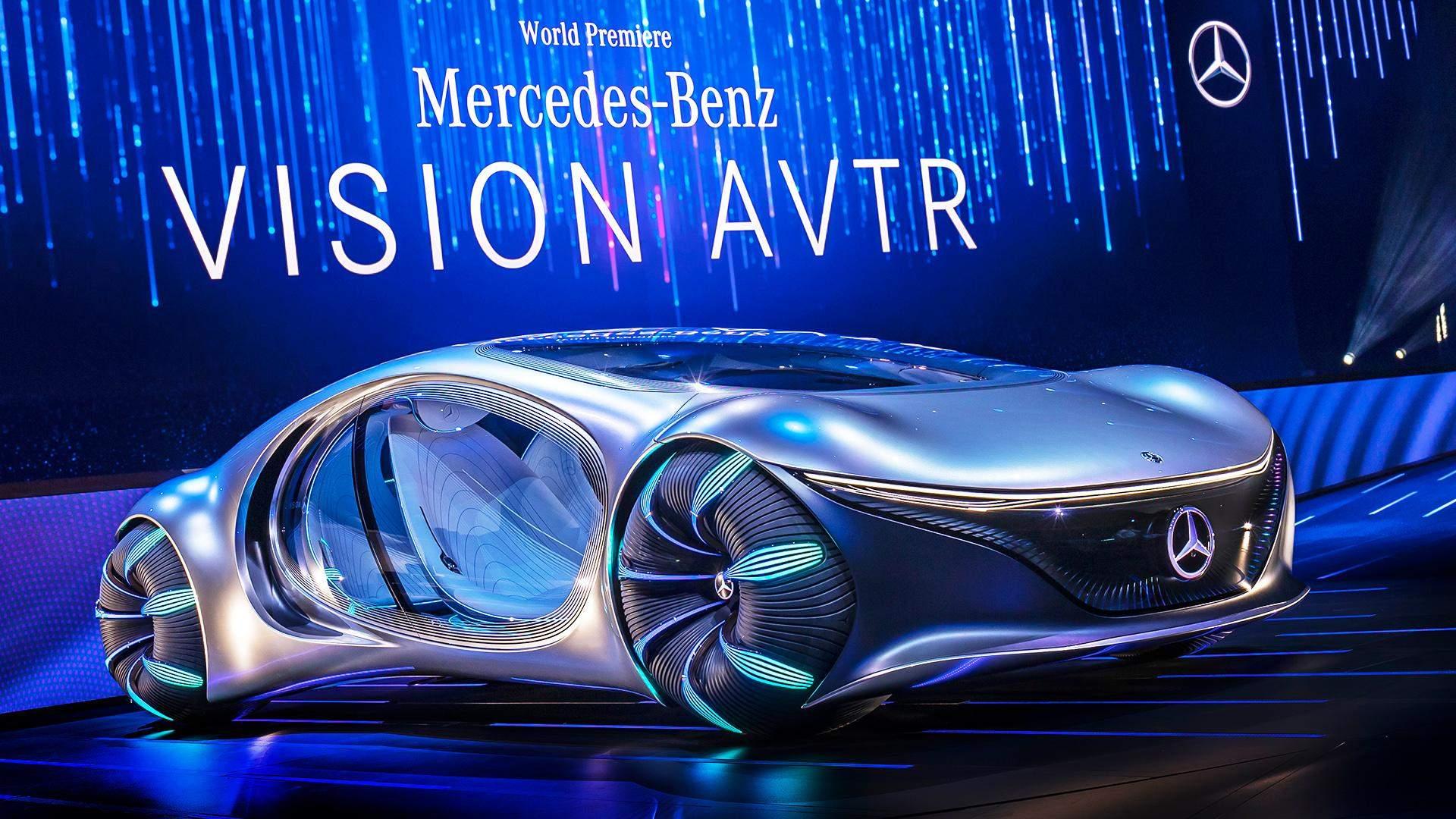 2020 Mercedes Vision AVTR - Concept with Avatar Genes - newsR VIDEO