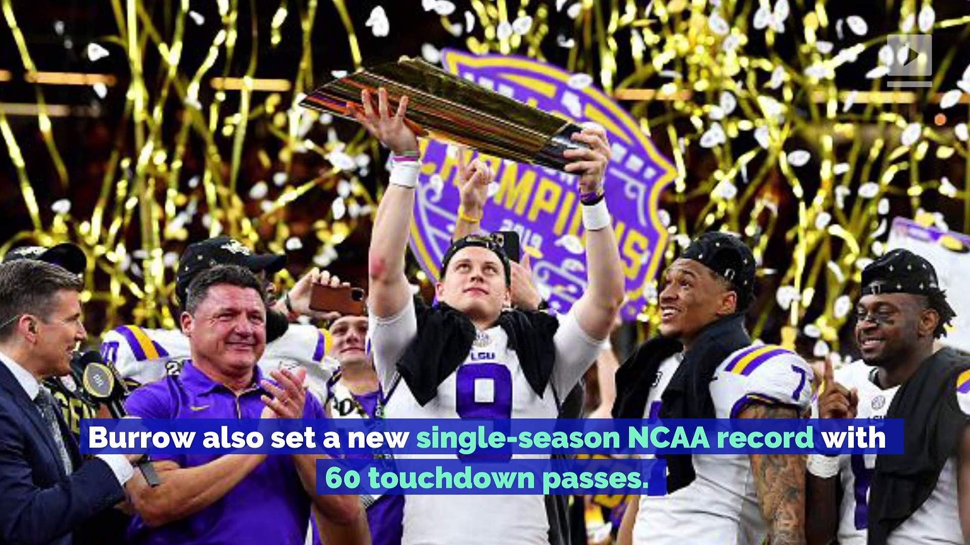 LSU and Joe Burrow Complete Historic Season With National Championship