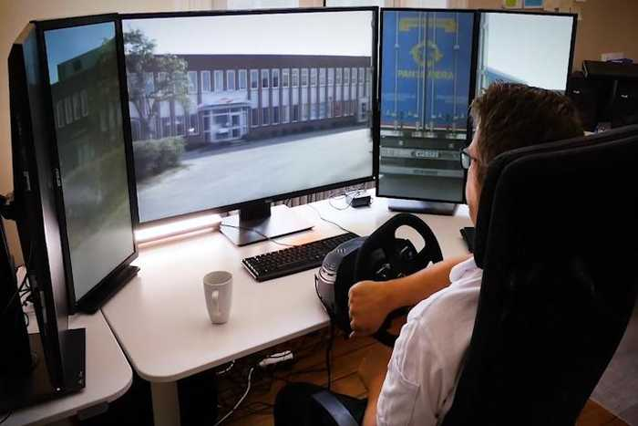 Operate a truck remotely