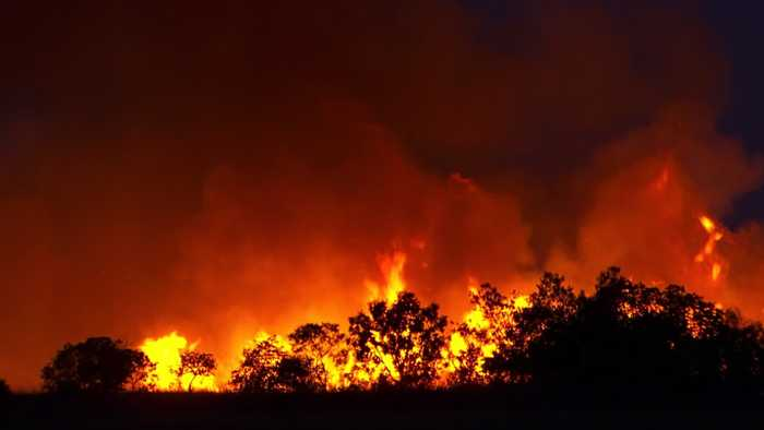 Rain And Hail Pelt Burning Australian States