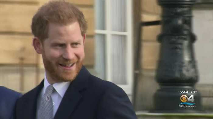 Prince Harry Makes First Public Appearance Since Announcing Plan To Step Back From Royal Duties