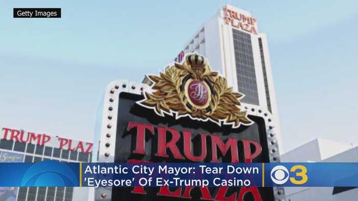 Atlantic City Mayor: Tear Down 'Eyesore' Of Ex-Trump Casino