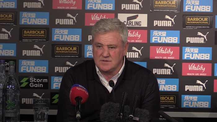 Newcastle boss Steve Bruce celebrates 'smash and grab' win against Chelsea