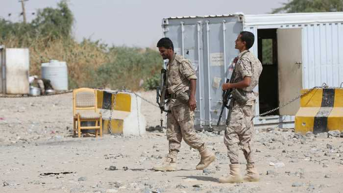 Dozens of Yemeni soldiers killed in Marib military camp attack