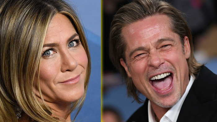 Courteney Cox Reacts To Brad Pitt & Jennifer Aniston Holding Hands