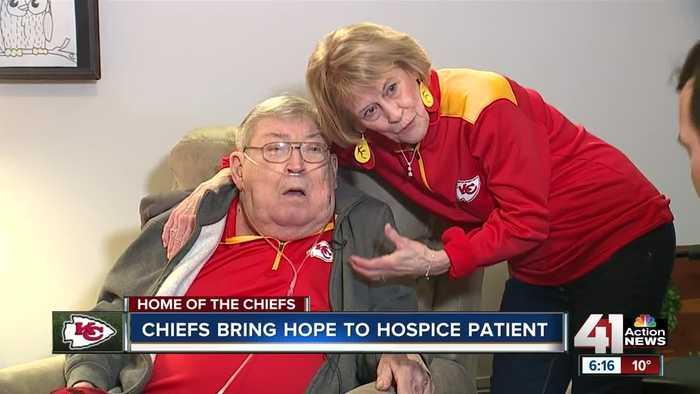 Chiefs Super Bowl run brings joy for fan facing terminal illness