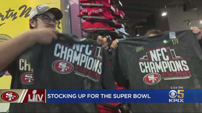 49ers Fans Line Up To Stock Up On Gear Day After NFC Championship Win