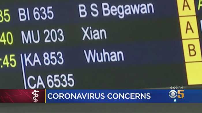 Coronavirus Concerns Prompt SFO To Screen Some Travelers From China