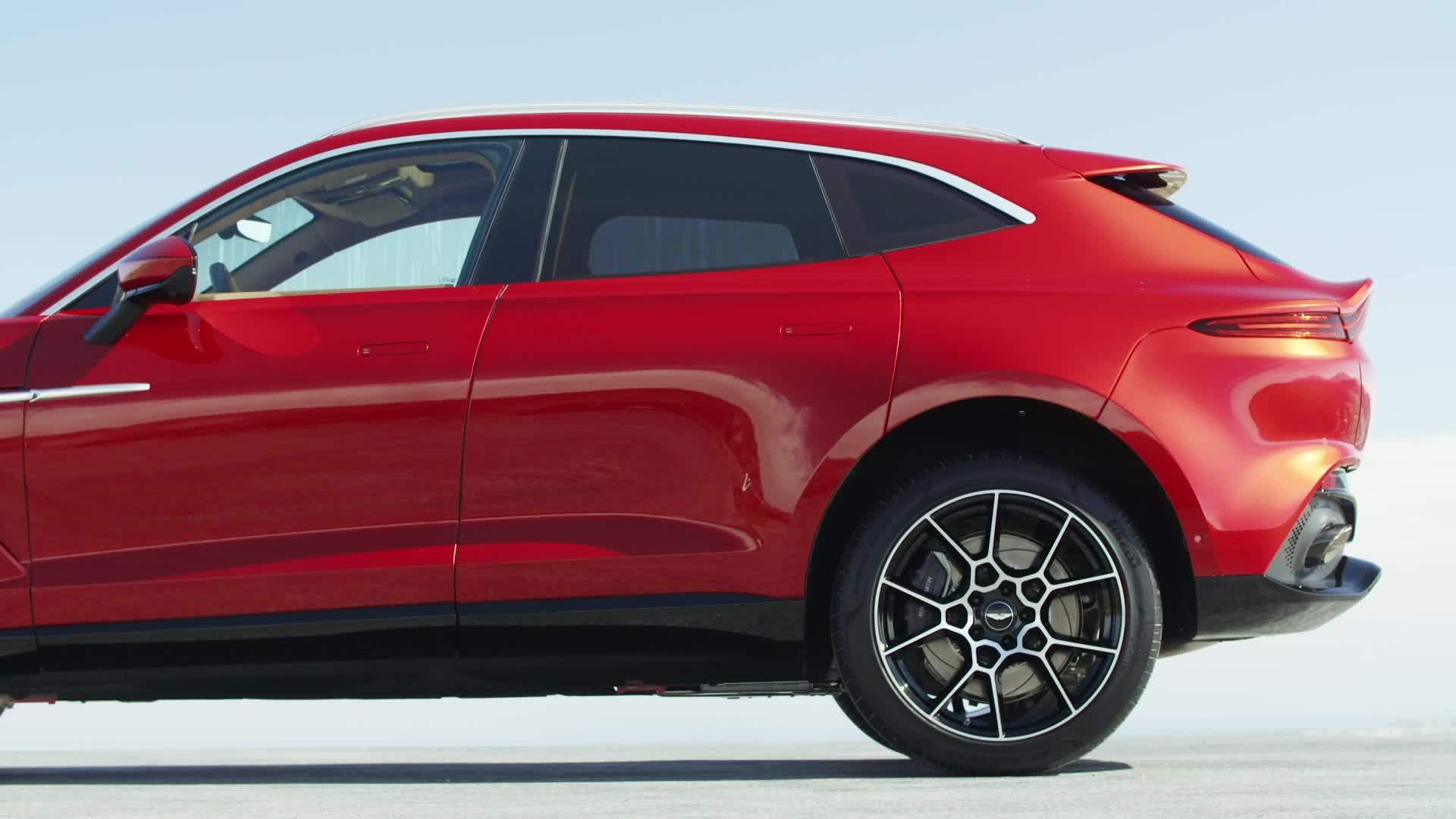 Aston Martin Dbx Preview In Hyper Red One News Page Video