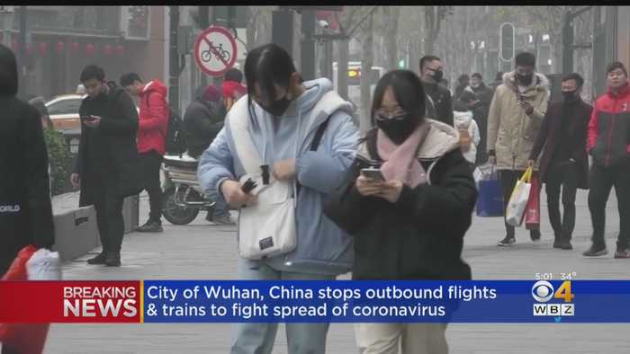 City Of Wuhan, China Stops Outbound Flights To Fight Coronavirus