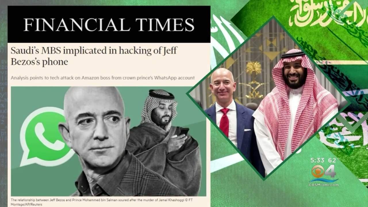 Amazon Founder Jeff Bezos' Phone Hacked