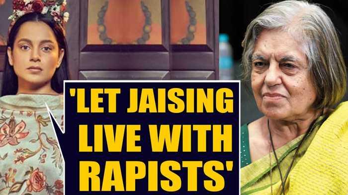 Kangana Ranaut lashes out at mercy campaigner Indira Jaising  OneIndia News