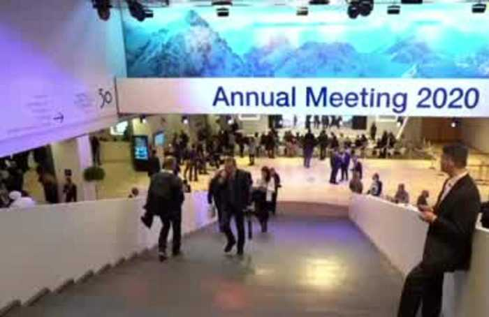 Fake videos and AI rattle nerves in Davos