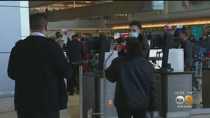 Passenger Arriving At LAX Sent To Hospital By Coronavirus Screener