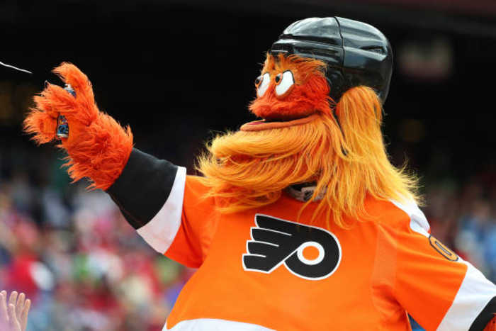 Philadelphia Flyers Mascot Gritty Under Investigation for Assault