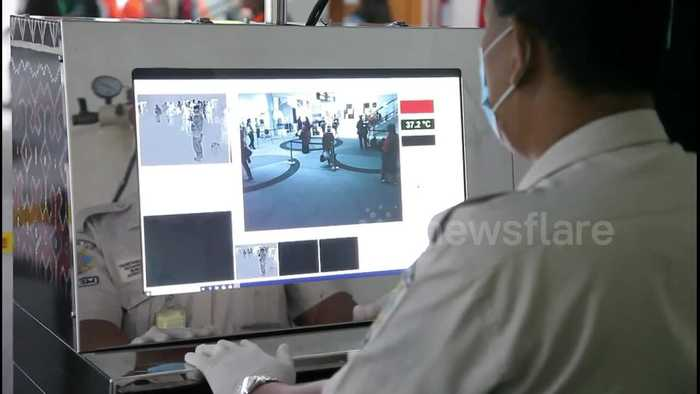 Indonesian border authorities implement thermal scanners at airports due to coronavirus outbreak