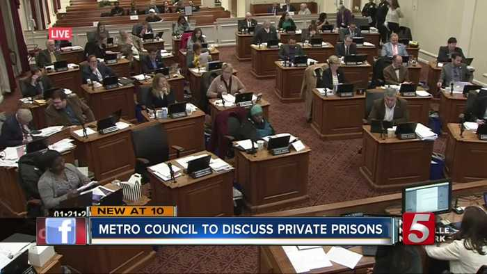 Metro enters 'emergency contract' with private prison company as officials discuss jail's future