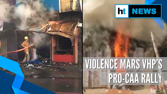 Violence during VHP'S pro-CAA rally in Jharkhand's Lohardaga, curfew imposed