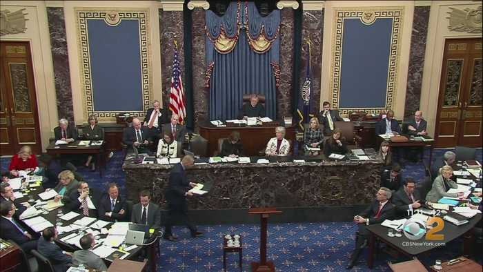 Impeachment Trial: Democratic House Managers Try To Debunk Trump's Defense