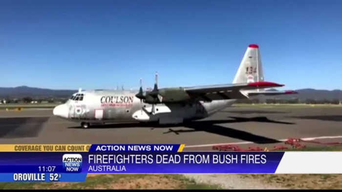 Firefighters who died in Australia were on California tanker