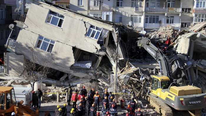 At Least 22 Killed After 6.8 Magnitude Earthquake Strikes In Turkey