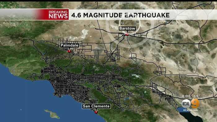 4.6-Magnitude Earthquake Strikes North Of Bartstow