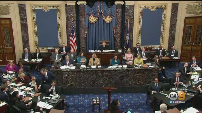 Democrats Finish Opening Arguments, Trump's Lawyers Start Saturday