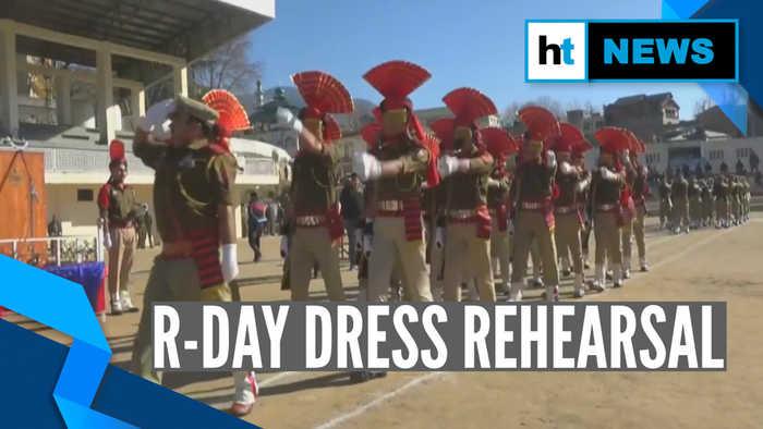 Watch: Ahead of Republic Day, full dress rehearsal organised in J&K's Doda