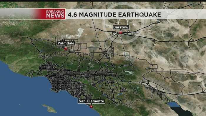 Seismologist Talks About 4.6-Magnitude Earthquake That Hit Near Barstow
