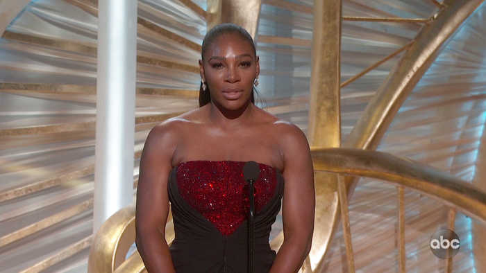 Serena Williams Introduces A STAR IS BORN