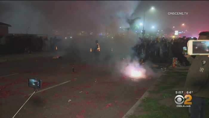 Garden Grove Lunar New Year Fireworks Accident Injures A Dozen People, 2 Seriously