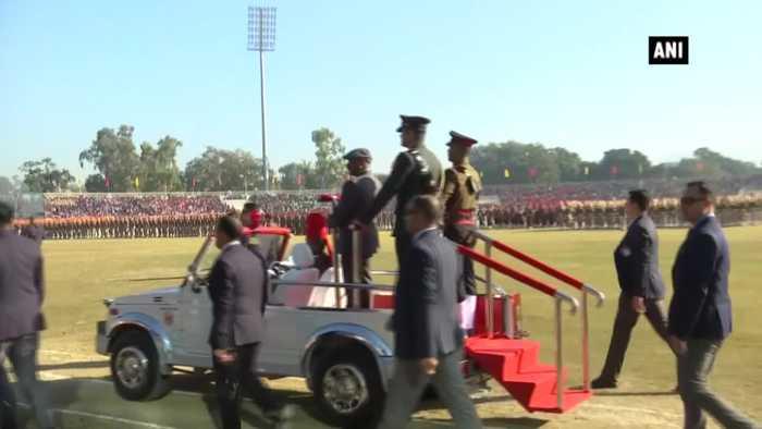 Republic Day 2020 Lieutenant Governor GC Murmu hoists national flag in Jammu