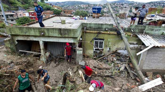 More Than 50 Dead In Brazilian Flooding And Landslides